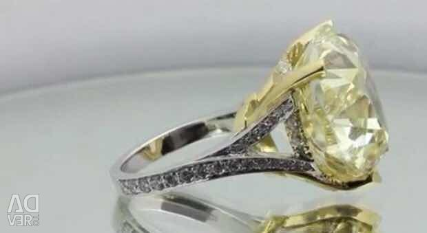 40carat heart diamond ring. GIA
