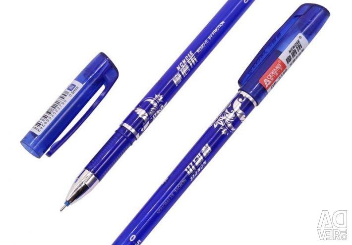 Гелевая ручка со стираемыми чернилами