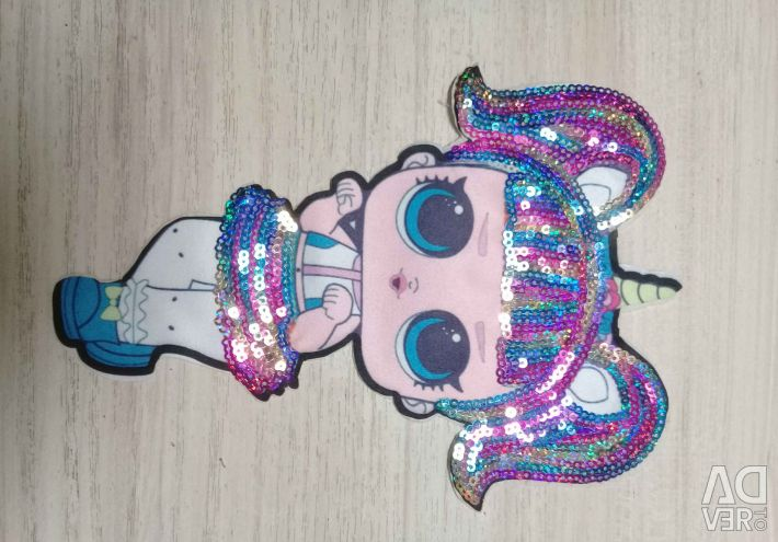 LOL patches with sequins