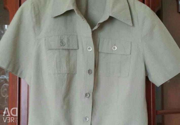Summer linen suit