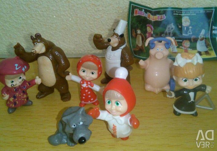 Kinder Surprise Masha and the Bear
