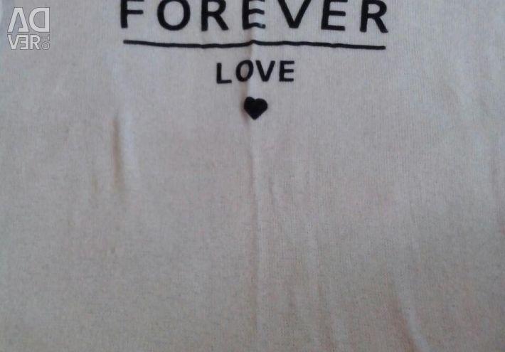 Cardigan, T-shirt