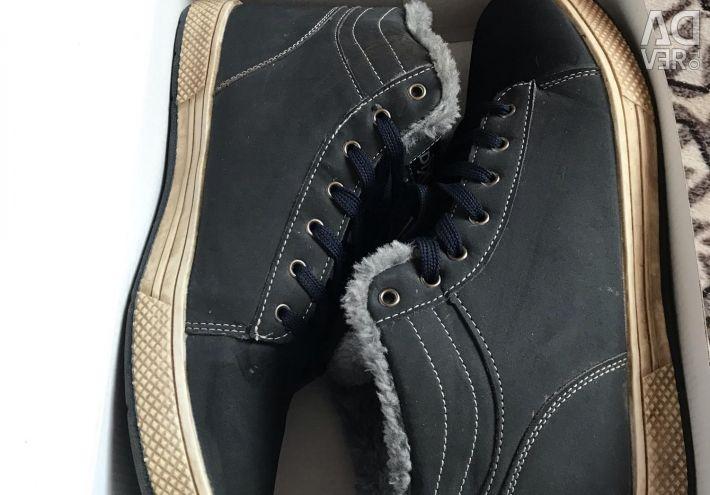 Кроссовки зимние мужские