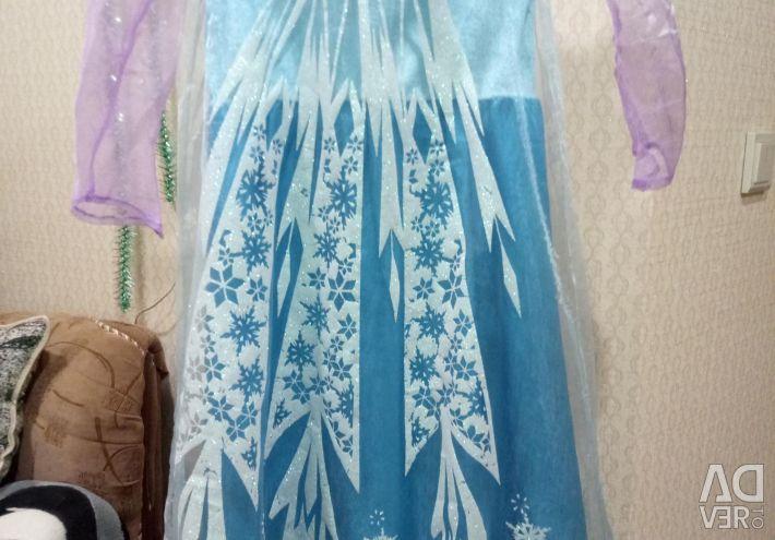 Прокат платья Эльзы