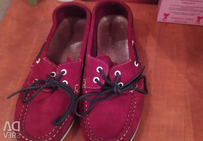 Moccasins for the girl