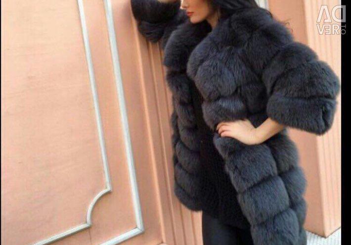 Fur vests and fur coats without prepayment