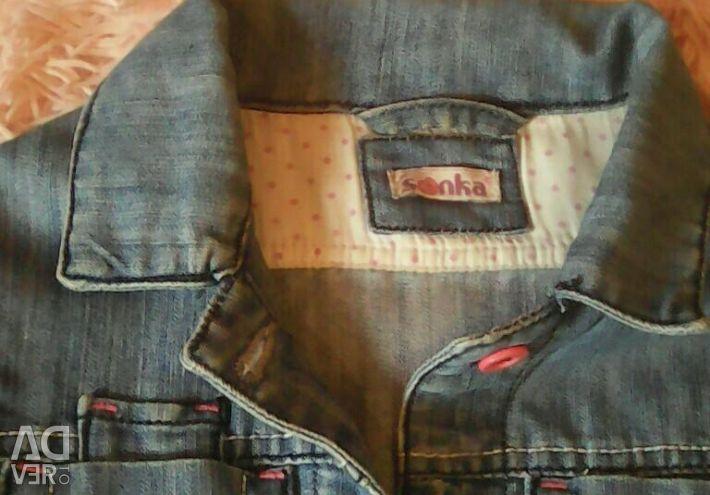 Піджак джинсовий 104-122