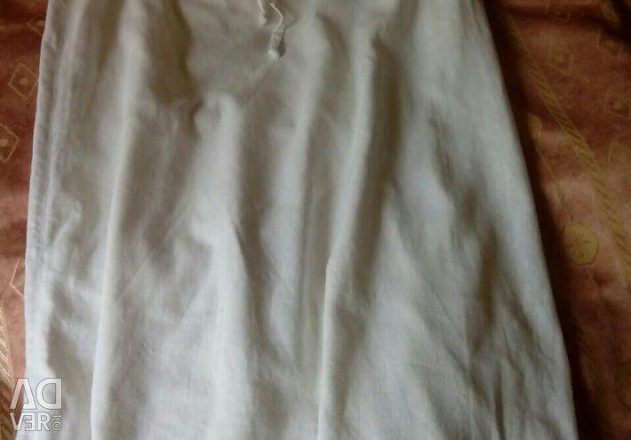 Flax skirt, long. Р-р44-46.