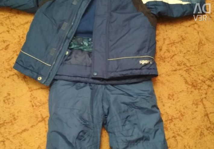 New jacket for boy and bib overalls new