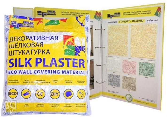 Liquid wallpaper silk plaster (relief 326)