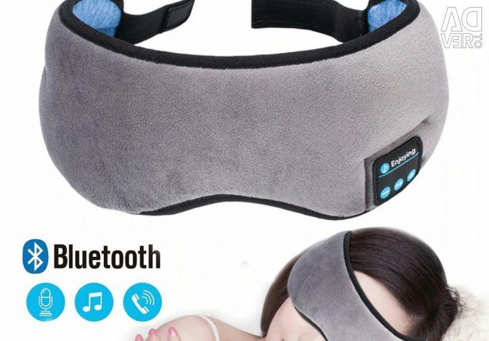 🔥 Μάσκα ύπνου Μαλακό ακουστικό bt ακουστικών