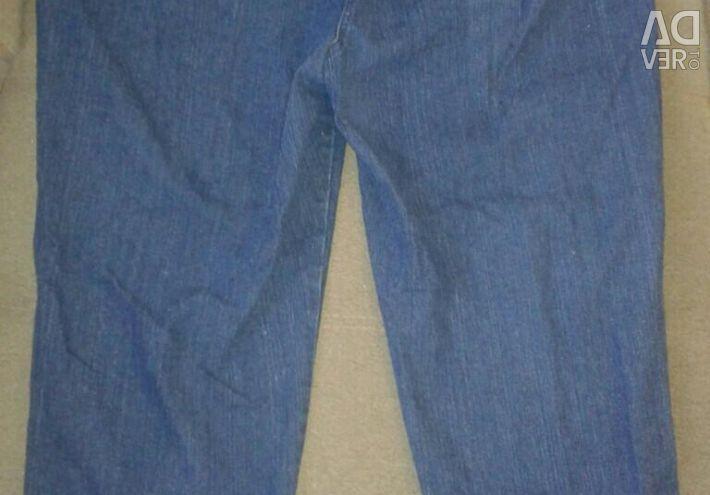 Kadınlar için kot pantolon. yeni