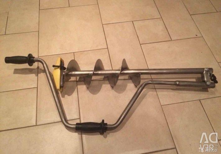 TONAR Titanium Ice Drill