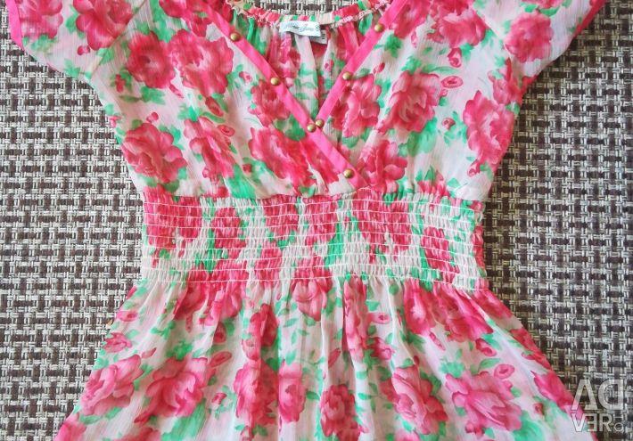 Şifon bluz boyutu 42-44