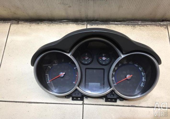 Πίνακα ελέγχου Chevrolet Cruze