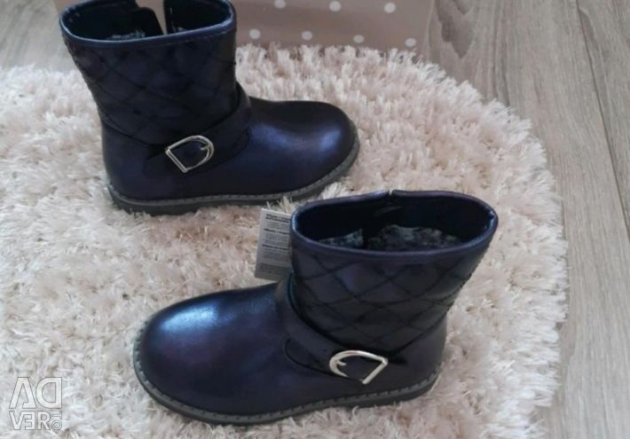 New boots warmed size 28