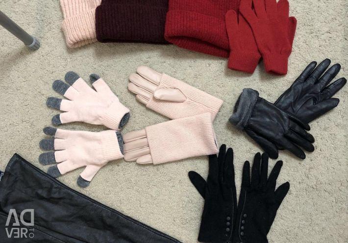 Pălării și mănuși noi