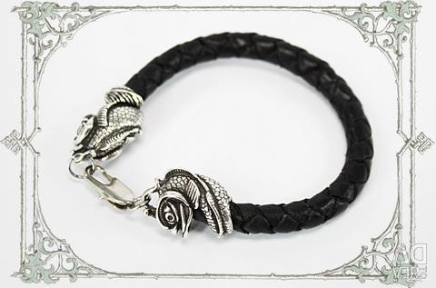 Leather Fish Bracelet