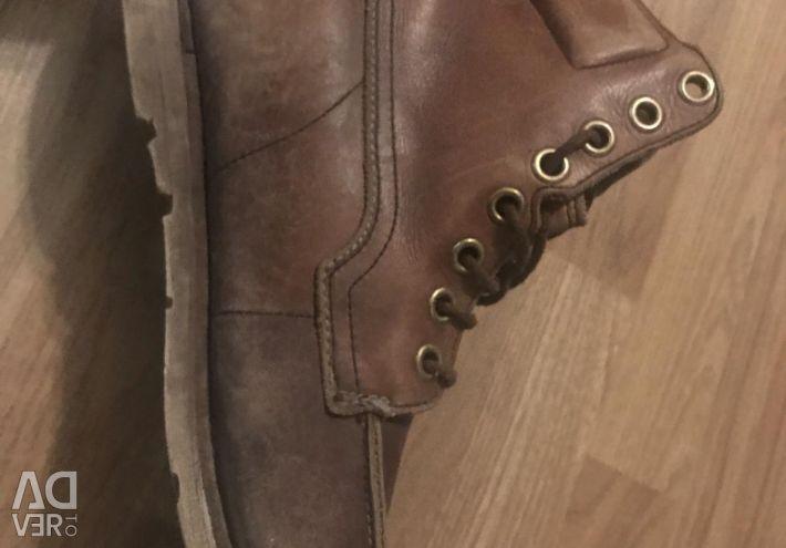 Timberland p-43 deri çizmeler orijinal