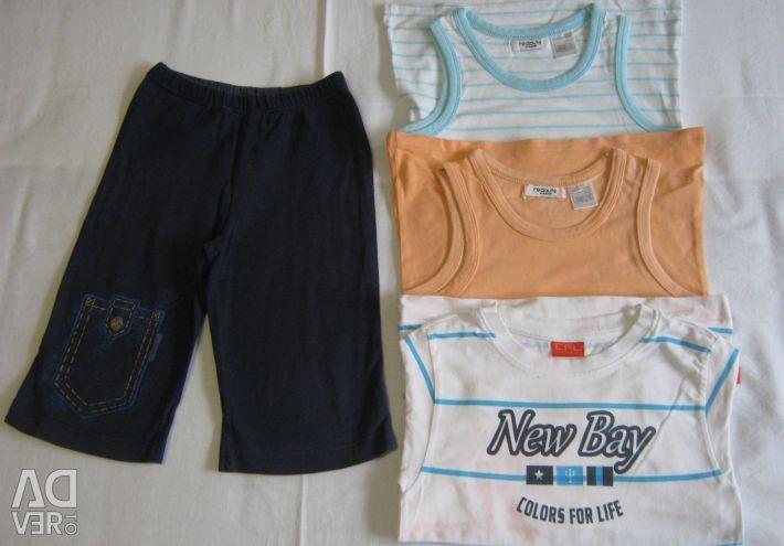 Shorts de vară pentru copii de la Bermuda 98 - 104