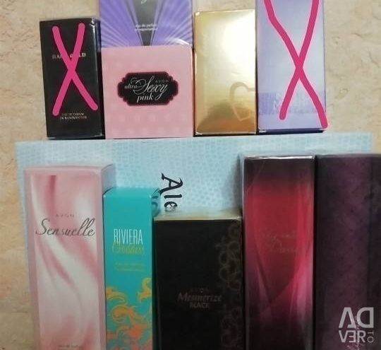 Avon shots, in boxes and without