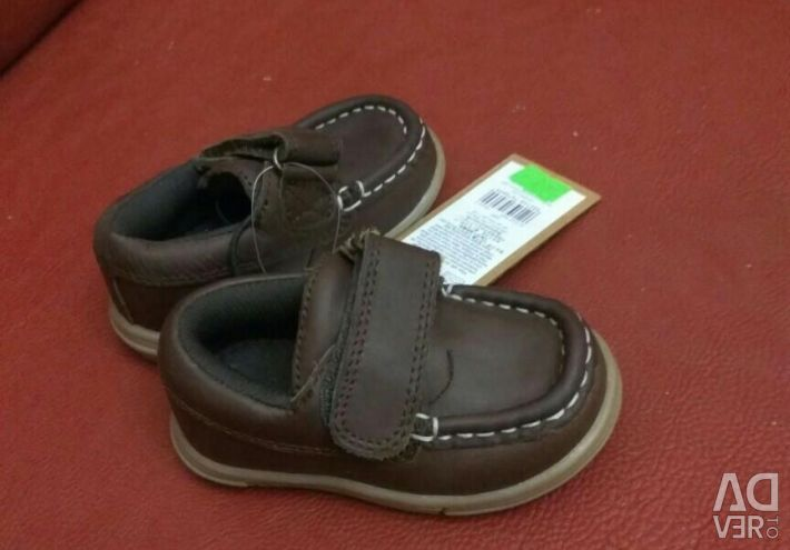 New Leather Moccasins Mothercare