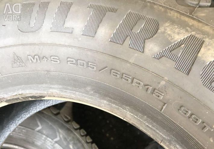 Winter tires R15 205 65 Goodyear