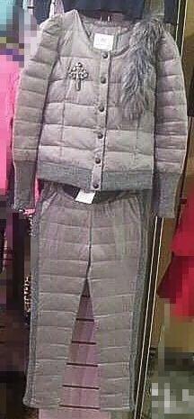 Warm suit for women
