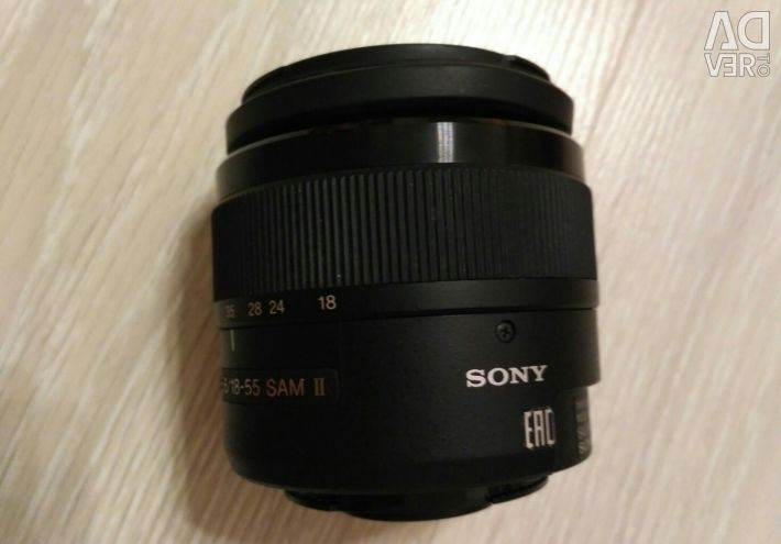 Sony lens 18-55 for repair or replacement parts.
