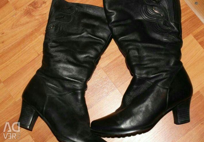 New boots natur.zima