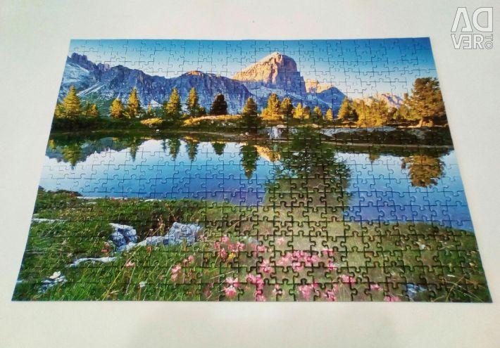 Puzzle 500 + 500