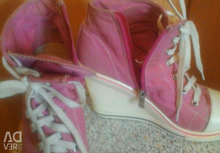 Αθλητικά παπούτσια σε μέγεθος πλατφόρμας 38