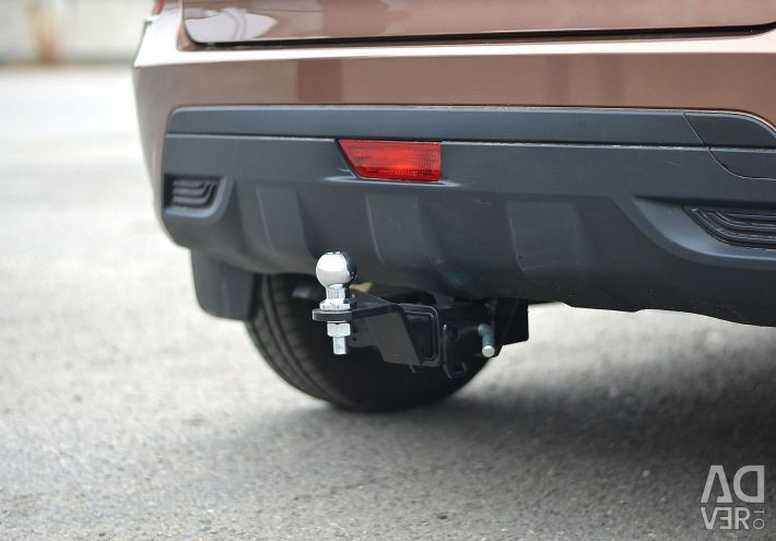 Towbar on LADA X-Ray (square)