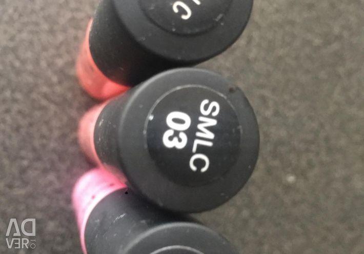 New matte lipsticks from NYX