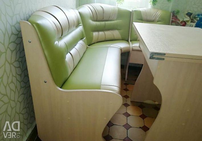 New kitchen corner