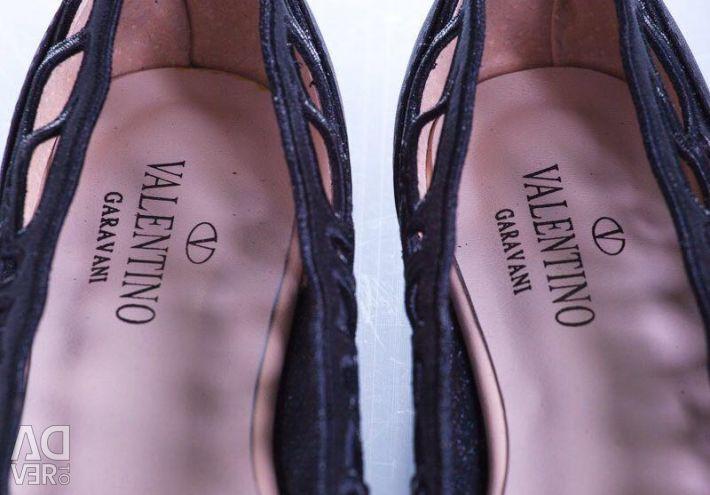 Новые балетки Valentino. Размеры 36,38