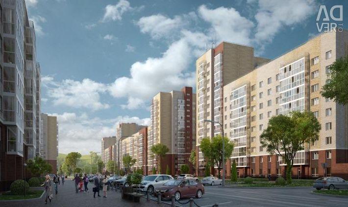 Apartment, 2 rooms, 53.85 m²
