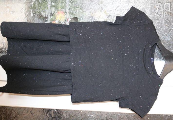 Costum nou pentru fete KIABI la 126-131 cm.