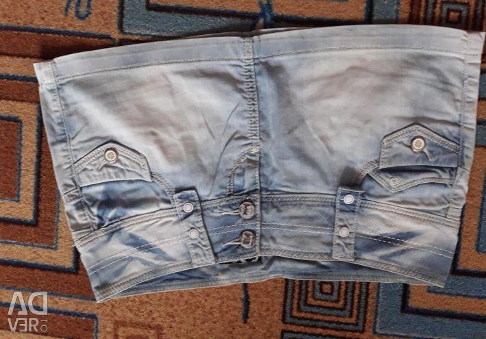 Denim skirt, size 30