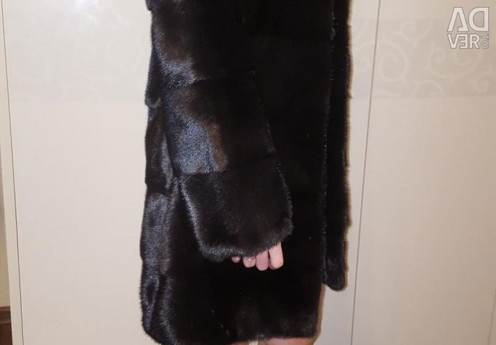 Mink fur coat. Very thick fur.