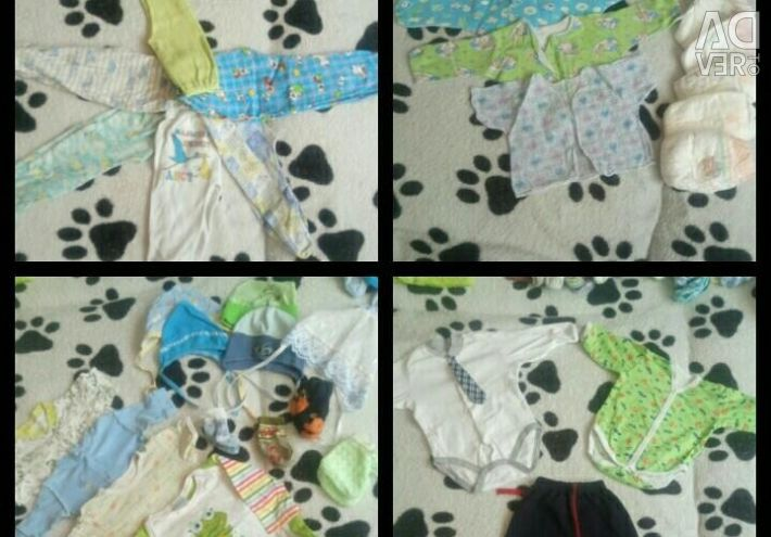 Baby things for the boy