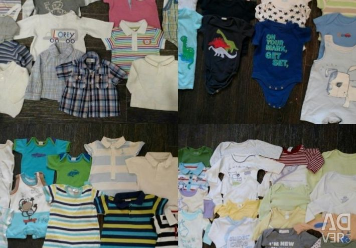 Things on the boy 0-36 months