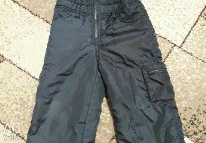 Autumn pants