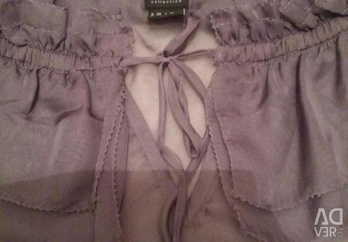 Bluza cu șifon Esprit S