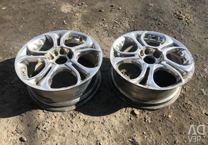 Cast Chrome R17 4.5x114.3