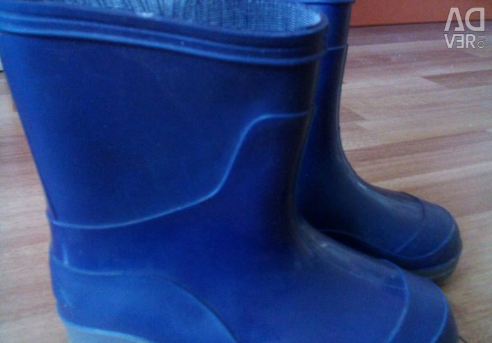 Rubber boots, 17 cm on the insole