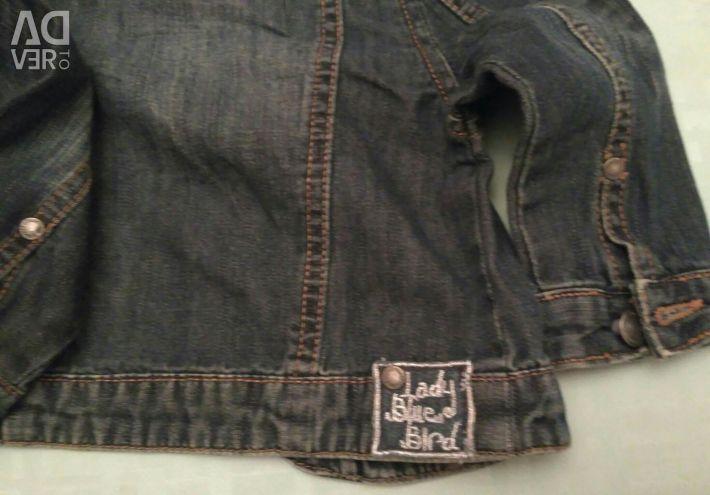 Jeans jacheta la înălțimea fetei 71