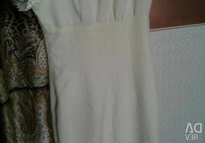 Feminine Vanilla Dress