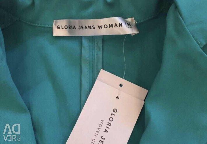 New jacket / jacket turquoise color 44-46