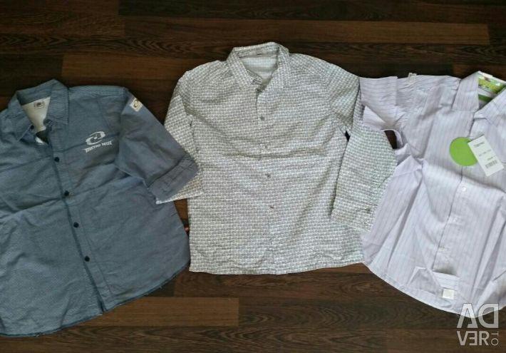 Shirts 140 -146 cm.